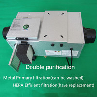4 inline duct fan with Hepa filter fresh air system fan HVAC air conditioning fan 100mm 220V ZR 100F