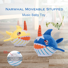 Easy Cleaning By Wet Plush Shark Toy Towel Narwhals Stuffed Baby Family Party Doll Birthday New Year Gift for Kids Pets on Aliexpress.com | Alibaba Group