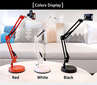 Phone Photography Live Video Shooting Desktop Suspension Arm Bracket Stand Metal Base Photo Holder Clip Tablet For Ipad Studio