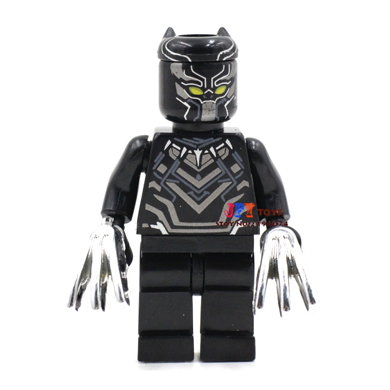 50pcs superhero Black Panther movie building blocks bricks friends for girl boy kids children toys brinquedos