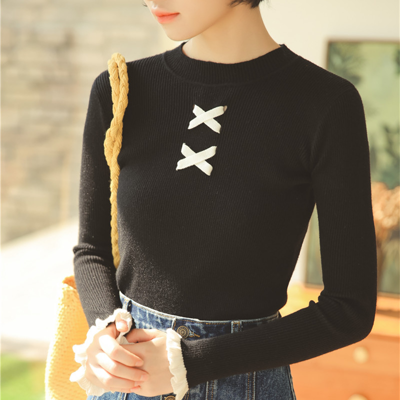Sweater Women Winter Turtleneck Stretch Sweaters Korean Fashion Woman Pullover Knitted Womens Mujer