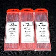 TIG сварочные вольфрамовые тортированные электроды-wth 1,0 мм* 175 мм, гарантия качества