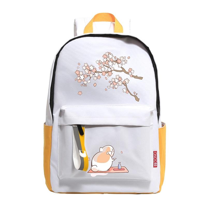 Cartoon & Anime Enfants Sacs à Dos Décontractés étudiant école Sacs à Bandoulière Mkd52 Cadeau D'anniversaire Natsume Yuujinchou Enseignant Chat