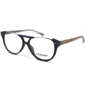 Image 4 - HDCRAFTER montures de lunettes de Prescription pour hommes, pour myopie, monture de lunettes, pour femmes, pour Grain de bois