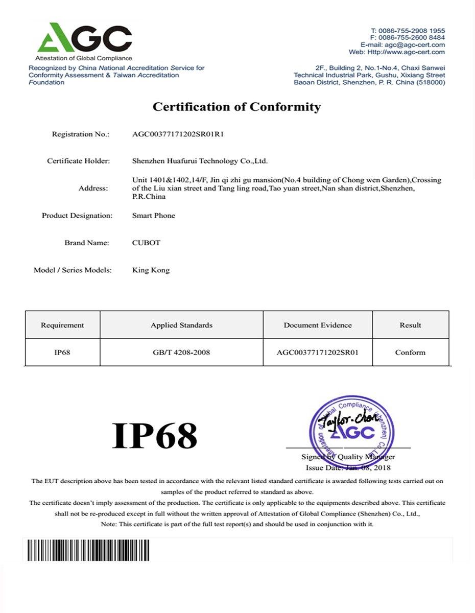 IP68-Test