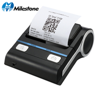 Milestone 80mm Thermal Printer Bluetooth Android POS Receipt Bill Printer Printing Machine MHT P8001 for Small Business