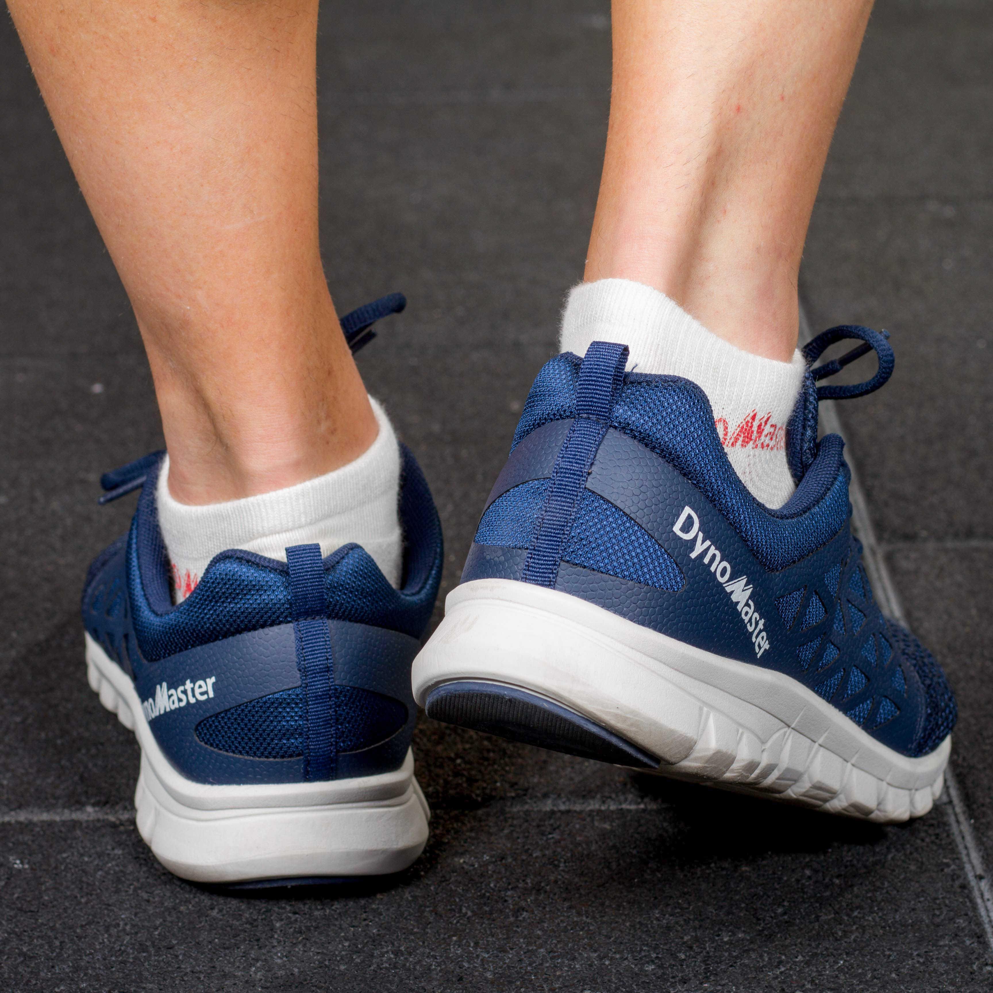 Dynomaster scarpe da corsa blu scuro corridore di sport di forma fisica degli uomini di scarpe