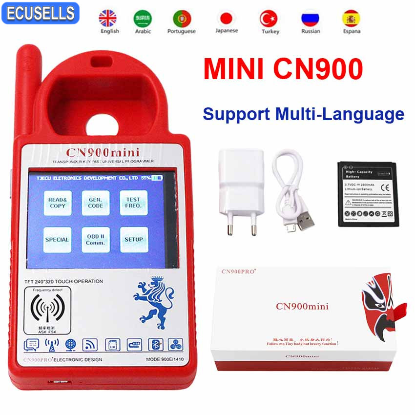 Mini CN900 Smart CN900 Mini V5 18 Version Transponder Key Programmer Mini CN900 for 4C 46