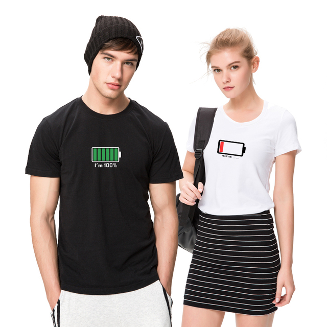 T-shirt Homme & Femme Batterie 2