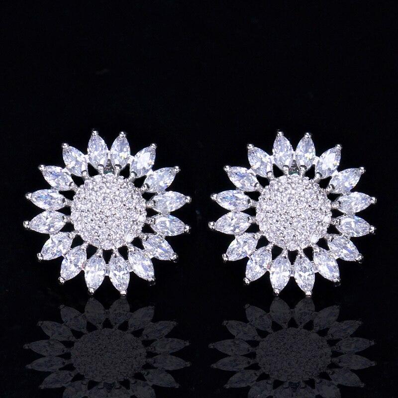Sunflower Stud Earrings4