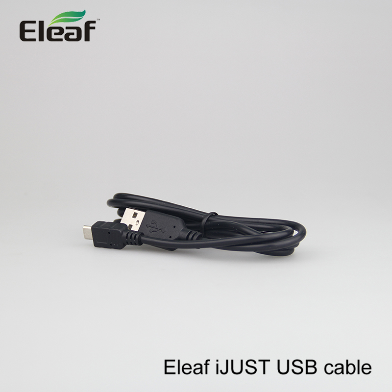 5pcs Original Hottest Selling Eleaf Ijust Usb Cable Replacement Eleaf Usb Line For Ijust S/ Ijust 2/ijust Battery On Promotion Elctronic Cigarette Chargers