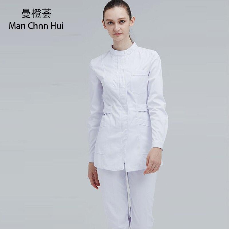 Female nurse s suit medical uniform lab coat hospital doctor s clothing multicolor surgical scrub suit