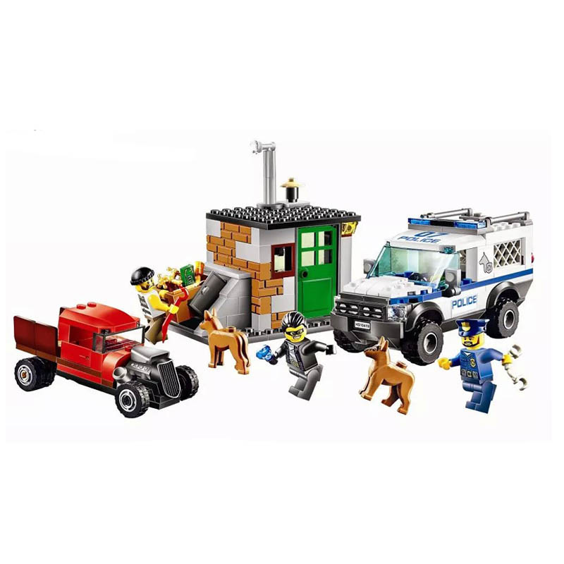 Lepin 60045 Bela 10419 Pogo A Dream City Policeman Dog Urban Models Building Blocks Bricks Compatible Legoe Toys bela 10439 compatible lepin city arctic helicrane building blocks policeman figure toys for children girls