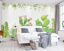 Купить с кэшбэком Beibehang Custom Wallpaper Living Room Bedroom Background Mural 3d Wallpaper Dandelion 3D Square TV Wall Background wallpaper