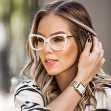 cc54a701802e Vazrobe Thick Glasses Women Decoration diopter Transparent Eyeglasses  Vintage Nerd Points Grade Eyewear with Clear
