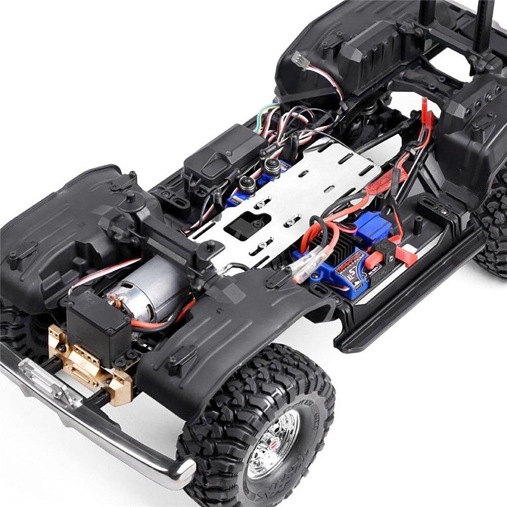 Tüketici Elektroniği'ten Yedek Parçalar ve Aksesuarlar'de GRC TRX4 G2 Motor Ön dişli Kutusu Ön monte Motor Şanzıman Set TRAXXAS için TRX 4 # GAX0033S title=