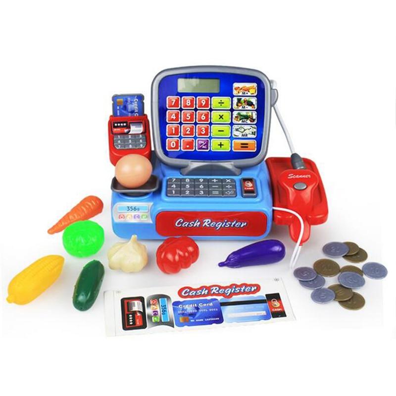 Supermarket Mini Shop Shopping Grocer Minimarket Till Register Cashier Simulation Furniture Checkout Pretend Play House Toy Pakistan