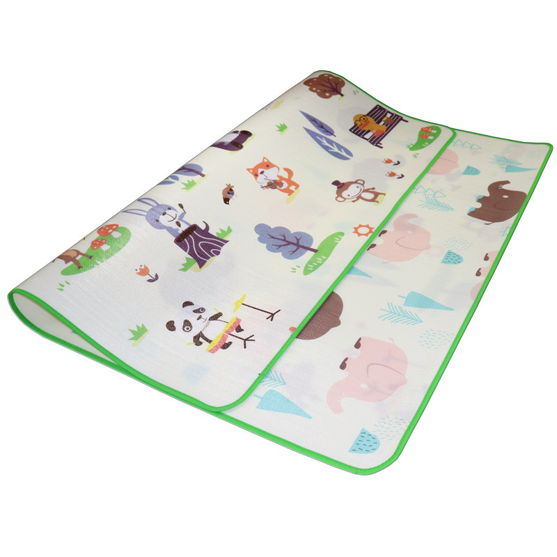 HTB1 IElcEGF3KVjSZFvq6z nXXaF Baby Crawling Play Mat 200*180*0.5cm Double Surface Educational Alphabet Animal Rug Children Waterproof Carpet Developing Pad