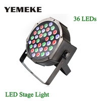 DMX Led Par Lamp 36W RGB LED Stage Light Wash Dimming Strobe Light Entertainment Stage Lighting