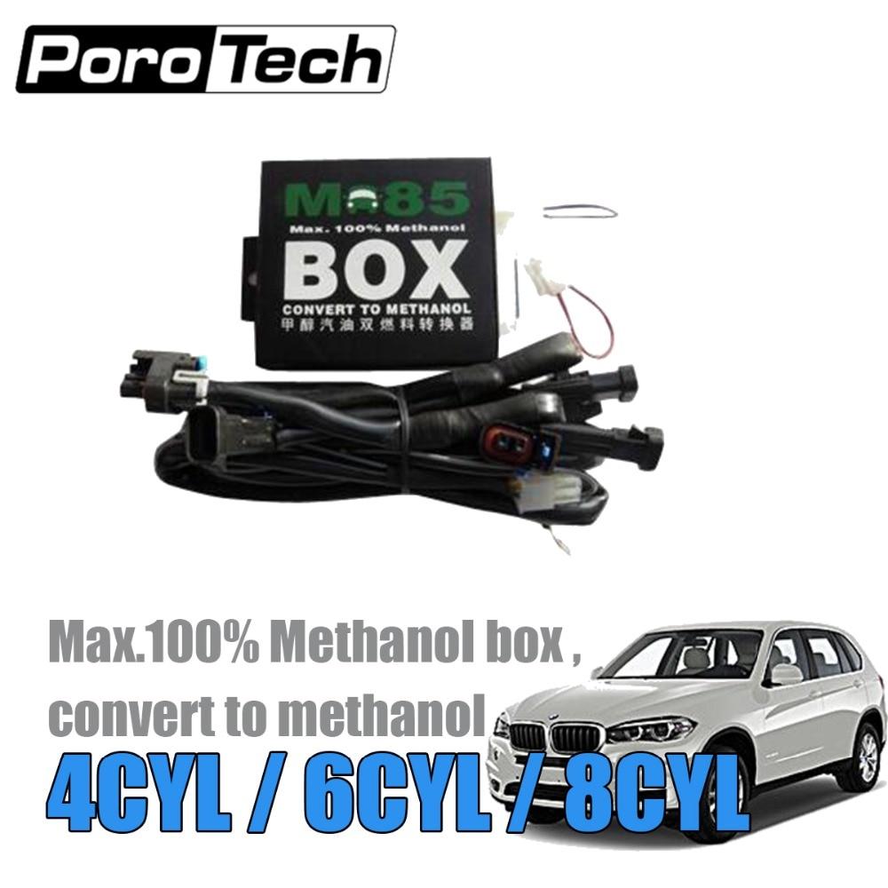 M85 M100 M50 4-in-1 Methanol Conversion 4CYL Methanol Car With Cold Start Asst For EV1 EV6 Honda Delphi Toyota