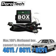 M85 M100 M50 conversione metanolo 4CYL metanolo auto con avviamento a freddo Asst per EV1 EV6 Honda Delphi Toyota