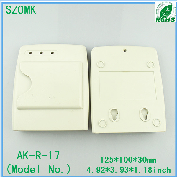 1 pcs, IC card door access alarm wireless sensor reader 125*100*30mm instrument plastic enclosure, hot selling plastic boxes ...