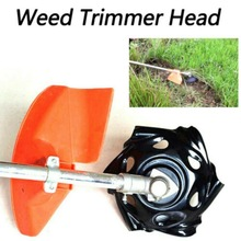 1PC Hot Machine Accessories Round Edge Scythe Lawn Mower Weed Trimmer Motor Head Carbon Steel Blades Garden Power Tool