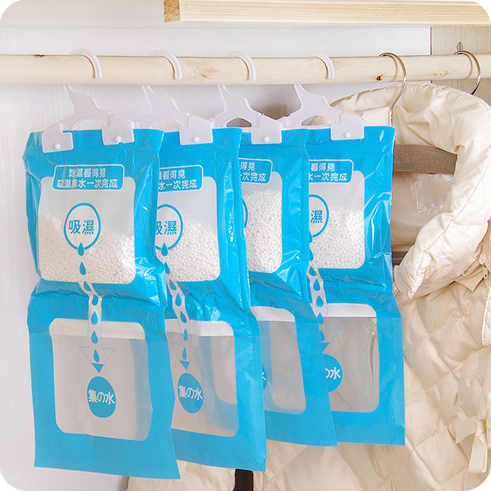 Be Hanging Wardrobe Closet Clothes Desiccant Moisture Desiccant  Dehumidification Hygroscopic Agent Mildew Bags Single Bag Sale In Garden  Hoses U0026 Reels From ...