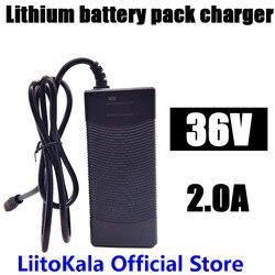 HK LiitoKala 36 V 2A 18650 charger Output 42 V 2A Charger Input Lithium Li poly Oplader Voor 10 serie 36 V Elektrische Fiets-in Opladers van Consumentenelektronica op