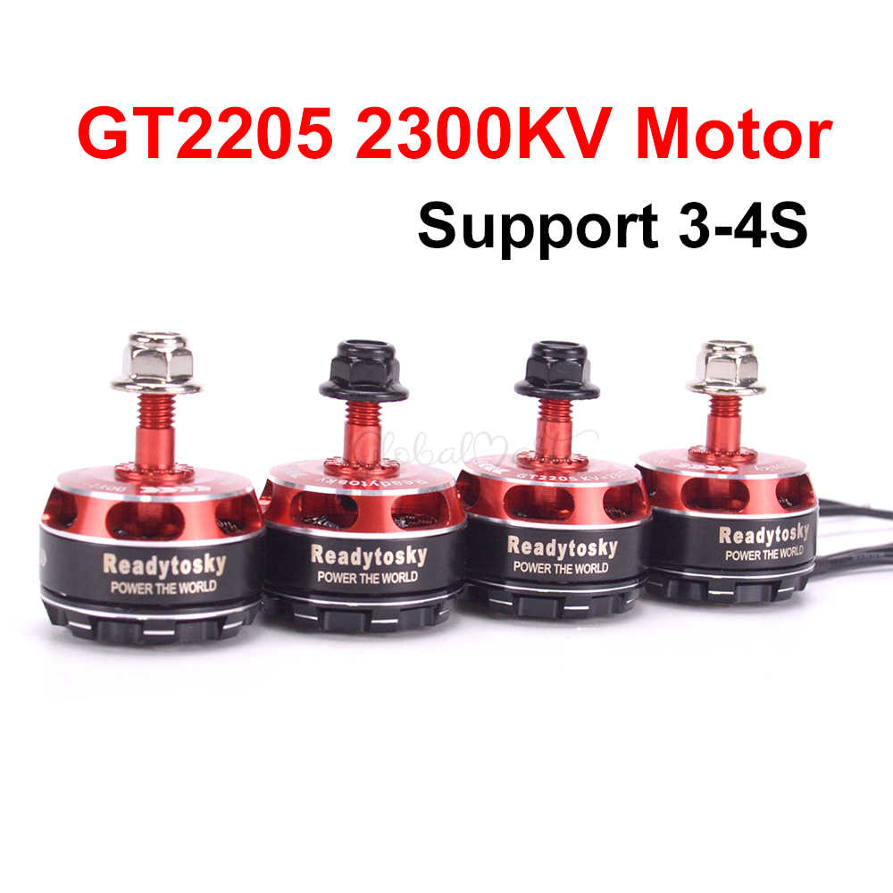 GT2205 2205 2300KV CW CCW Brushless Motor 3-4S for ZMR250 Martian II IV 220mm RC FPV Racing Drone