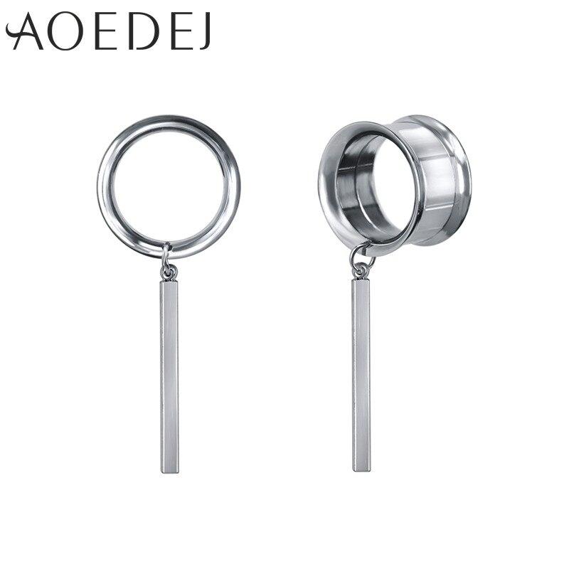 Ear Plugs Piercing Ear Tunnels Plug Gauges Stainless Steel Expander Piercing
