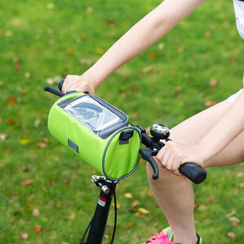Bike Head Package Bag Visual Touch Screen Riding Mobile Phone Bag Mountain Bike Bicycle Accessories Riding Bag for Outdoor