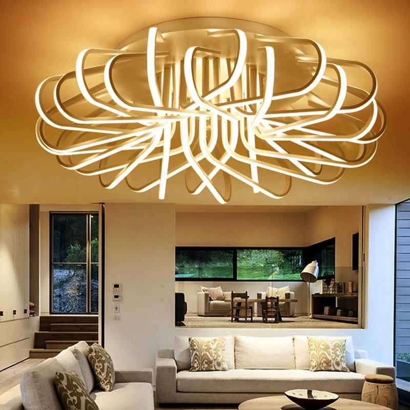 Hot Bird Nest DIY LED Ceilling Lights Modern Living Room ...