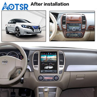 10.4 Tesla Style Vertical Android 7.1 For NISSAN SYLPHY 2005 2012 car DVD Player Navigation GPS Radio WIFI tape recorder unit