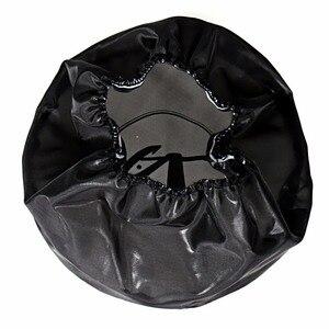 Image 3 - Rudyness黒防水雨靴下ハーレーツーリングストリートglideロードキングdyna softail sportster空気清浄機