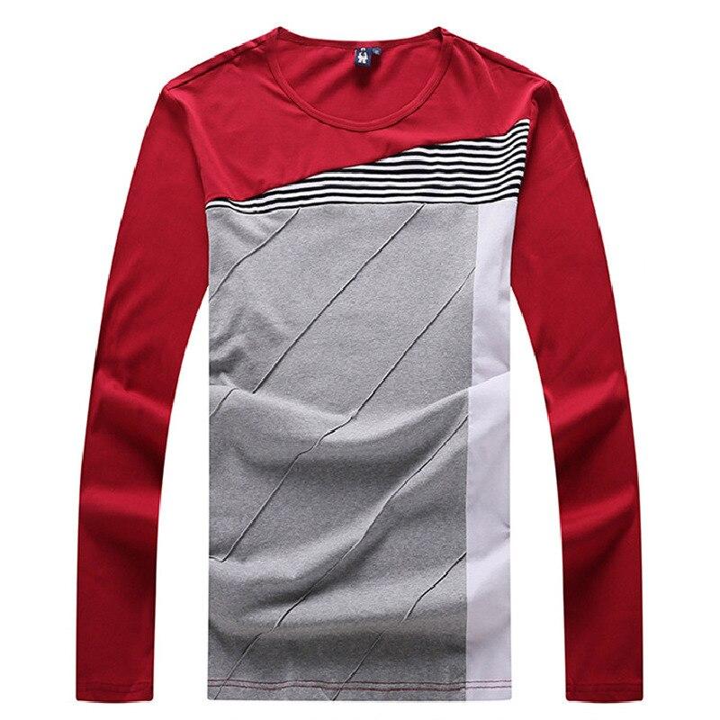 Manches O Grande À Plus Longues 8xl La 6xl 5xl Couleur Top 7xl T De Printemps Blue Ronde red Charme cou 4xl Qualité Taille shirts Chemises Hommes 8zrB8