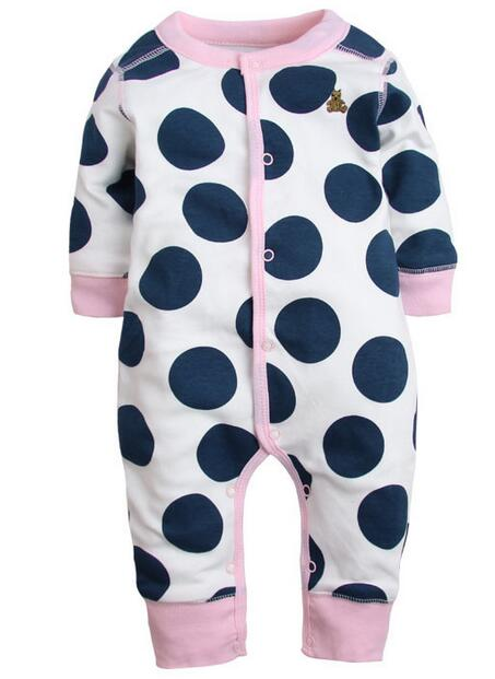 2018 baby's Baby meisje kleding lange mouw romper pasgeboren overalls - Babykleding - Foto 4