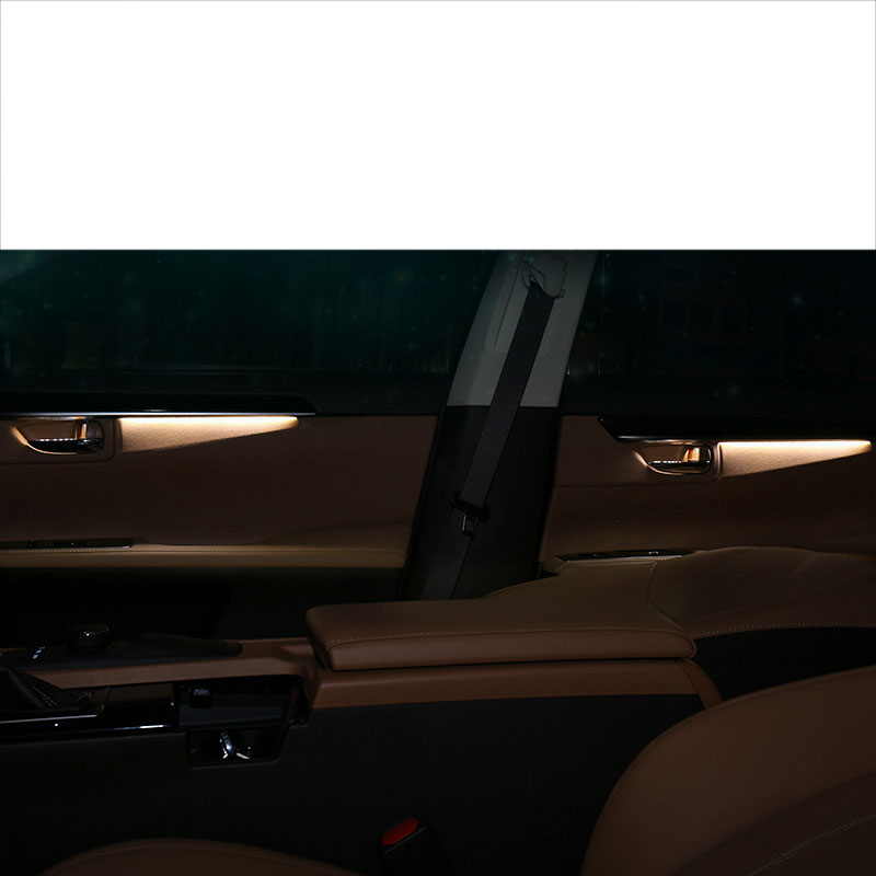 lsrtw2017 LED car interior atmosphere light for lexus es200 es250 es260 es300h 2012 2019 2018 2017 2016 2015 2014 2013 in Interior Mouldings from Automobiles Motorcycles