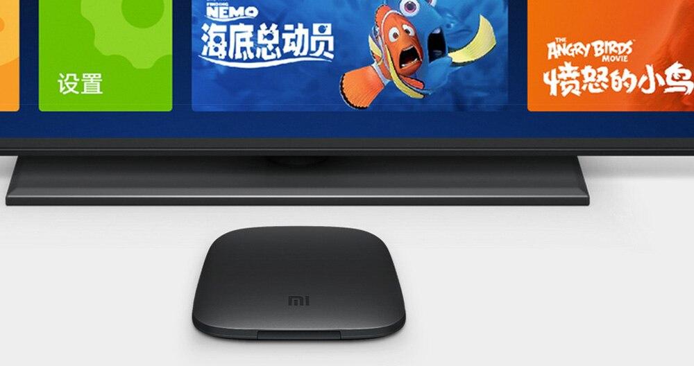 Xiaomi Mi 3C TV Box 4K 64bit Android 5 0 Media Player Quad Core Amlogic  S905 1GB RAM 4GB ROM Dolby DTS HDMI Set Top Box