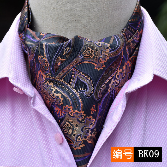 US $4 56 6% OFF|The New England Polyester Jacquard Scarf Paisley Kidney  Suit Shirt Collar Towel Scarf Business Tide Neck Tie Luxury-in Men's  Scarves