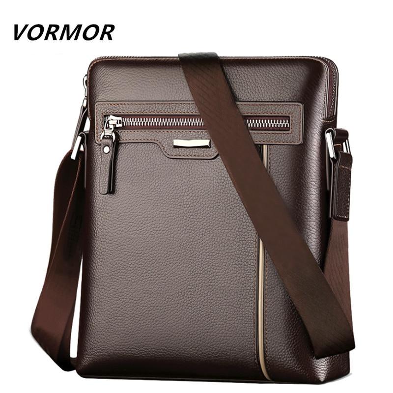 VORMOR Famous Brand Leather Men s