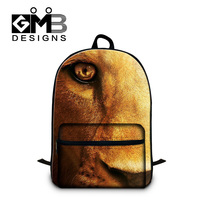Dispalang Fashion Children School Bag 3D Animal Lion School Backpack For Teenager Boy Girls Shoulder Book Bag Mochila Escolar