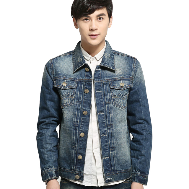 2015 New Arrival Denim Jacket Men Fashion Short Coat For Men Best