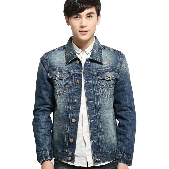 81134329a8af3 2015 New Arrival Denim Jacket Men Fashion Short Coat For Men Best Trucker Jacket  Jean Jacket For Men Autumn Men's Jackets