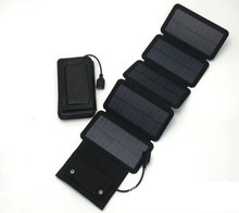 New 7.5W Solar power bank 5V/1.5A mobile powerbank universal portable Mono Silicon solar Panel charger