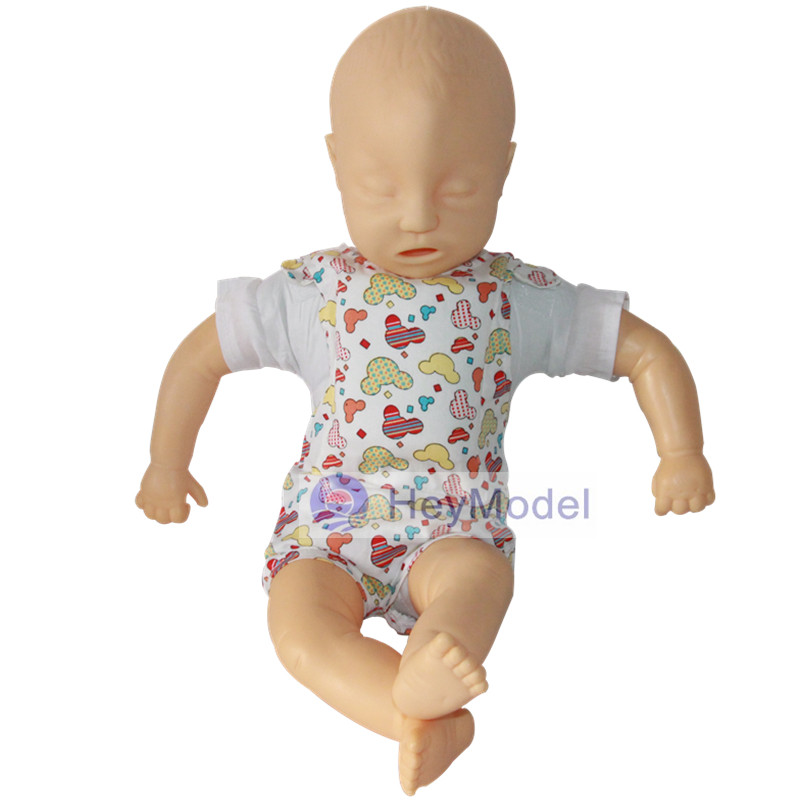 HeyModel Infantile airway obstruction and CPR 150 model Infant cardiopulmonary resuscitation simulation infant airway management model medical airway training model