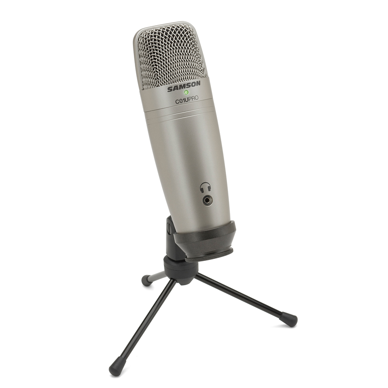 Original Samson C01U Pro USB Studio Condenser Microphone for Youtube Videos condenser/computer microphone for broadcasting image
