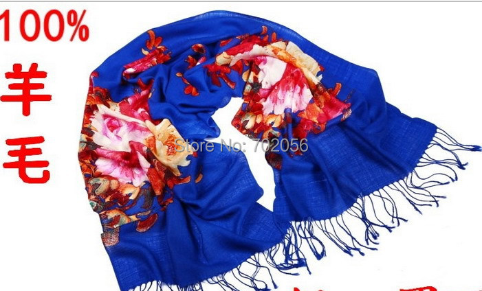2016 new arrival 100% wool   wrap   poncho   scarf     wrap   shawl wholesale womens 14 colors 200*60cm #3783