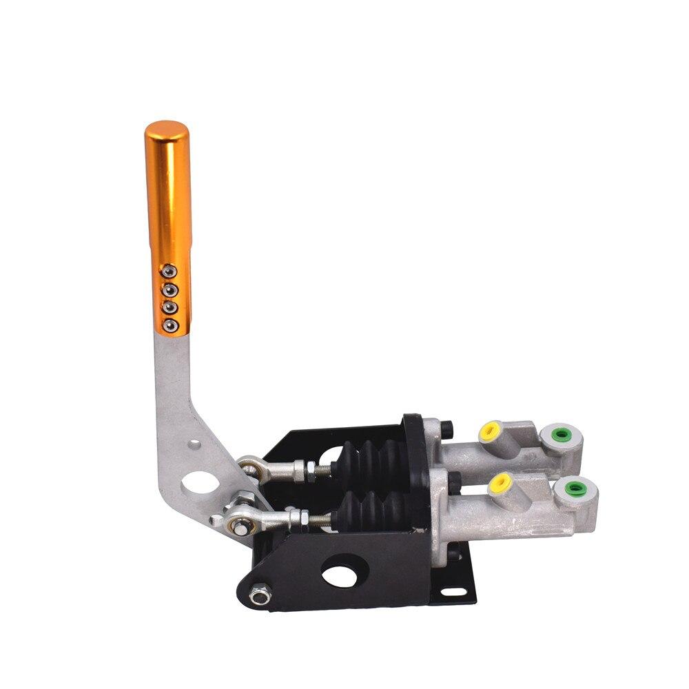 Алюминиевый Универсальный для гоночной машины Двойной Главный цилиндр гидравлический Рычаг стояночного тормоза Drift ручной тормоз E-brake