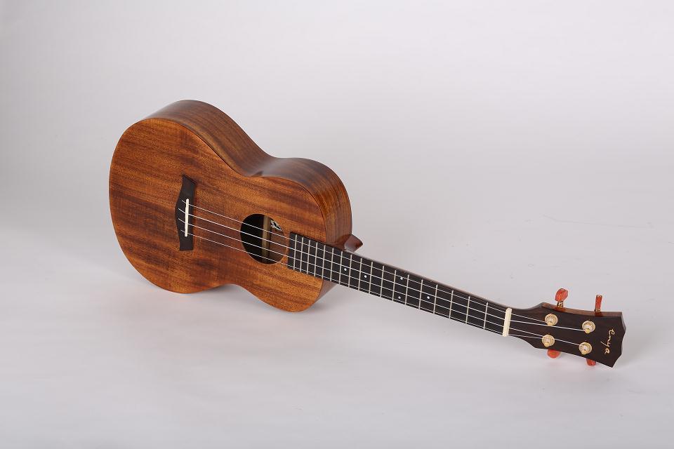 Enya Ukulele K1 23/26 inch Solid Koa Akoestische Ukuleles Concert Tenor met Tas 4 String Gitaar Muziekinstrumenten